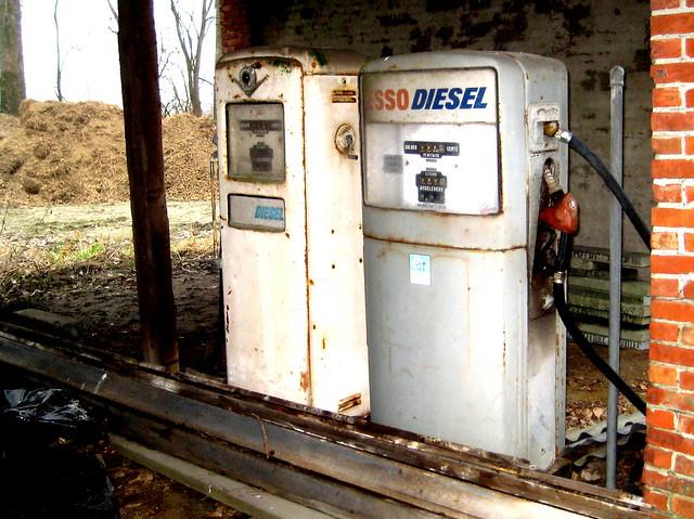Diesel in Zeeuws Vlaanderen 2012