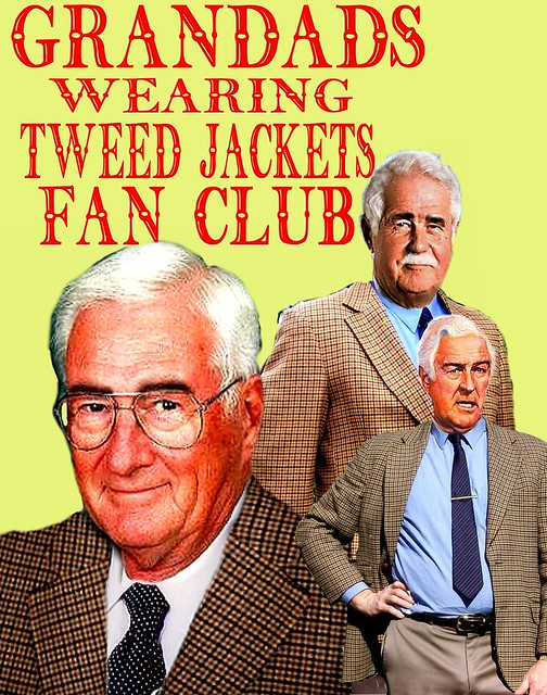 Grandads tweed jacket fan club  4