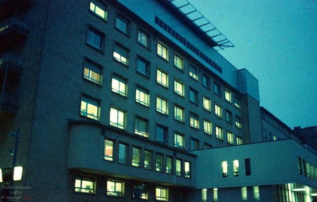 Blue Hospital
