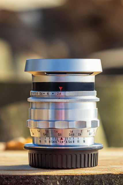 Carl Zeiss Jena Flektogon 35mm ƒ/2.8 Alu preset