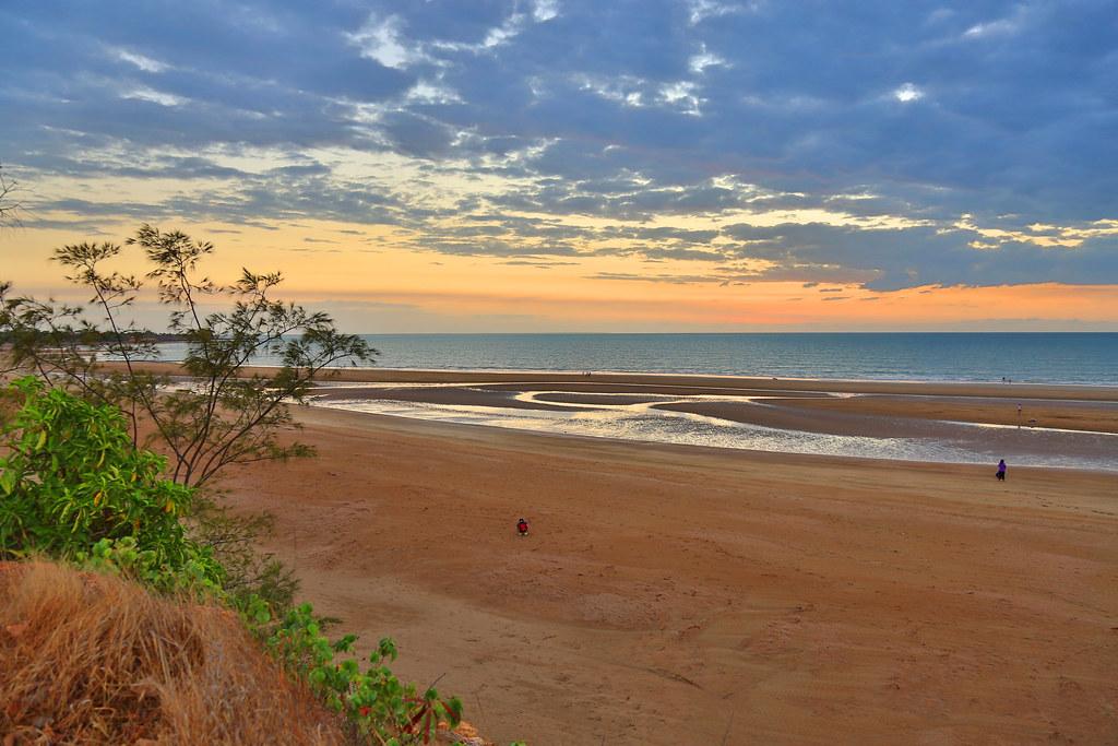 Monsoon Season Sunset, Casuarina Beach, Darwin, Northern T