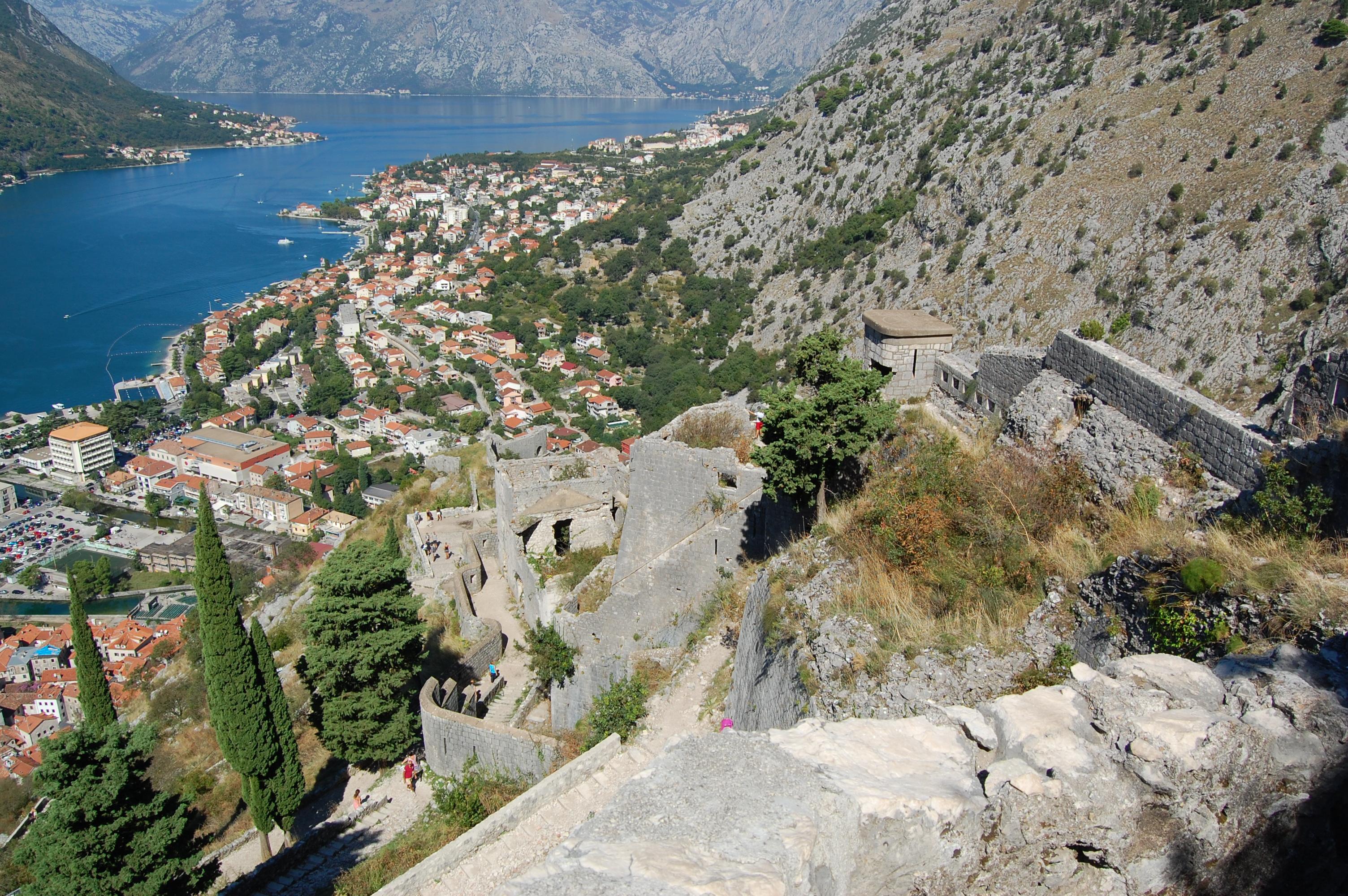 Pevnost nad Kotorem