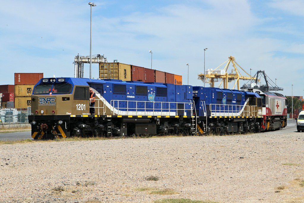 1201 1202 CSR006 D172s DP World Pelican Point-A 28 11 2014 by Daven Walters