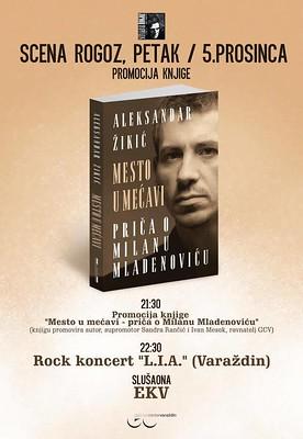 """Promocija knjige """"Mesto u mećavi-priča o Milanu Mladenoviću"""""""
