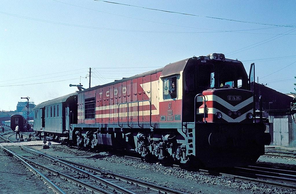 De24 204 Izmir Basmane 20 09 78 Foto K W Koch Bahnbilder Von W H Brutzer Flickr