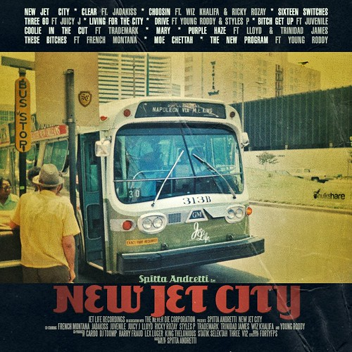 "Album Artwork - Curren$y ""New Jet City"" Tracklisting 