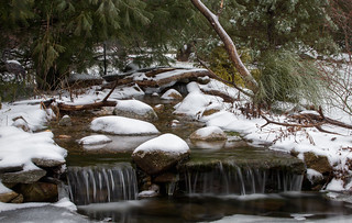 Snowy Stream | by Rob & Amy Lavoie