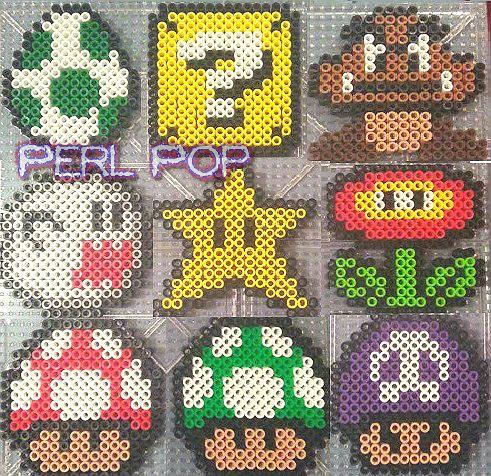 Super Mario Bros Sprite Pixel Art Yoshi Boo Starman Fire F Flickr