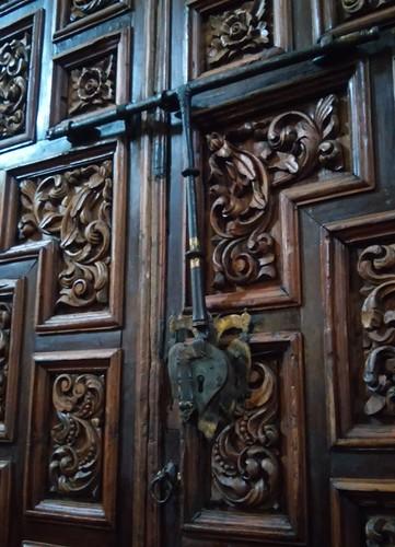 Entrega de la Restauración de los Portones de la Catedral.