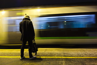42/365 Waiting for the train | by Richard Cunningham