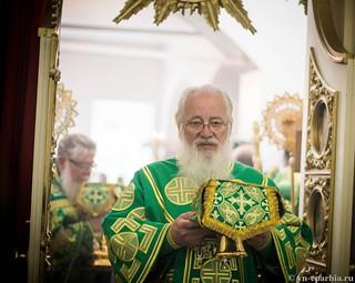 Божественная Литургия в д.Леохново 460