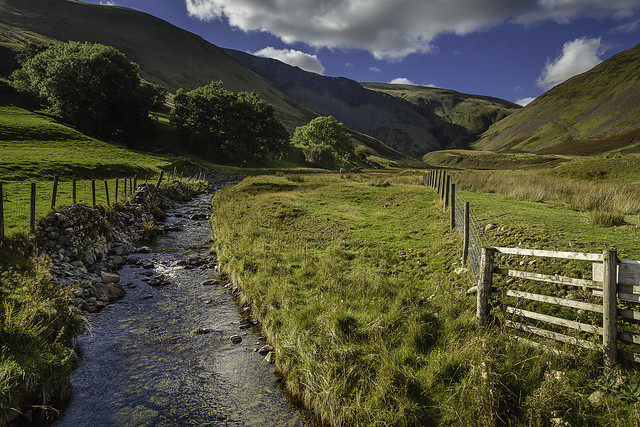 towards cautley spout