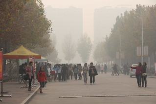 Anyang, China, severe air pollution | by vtpoly