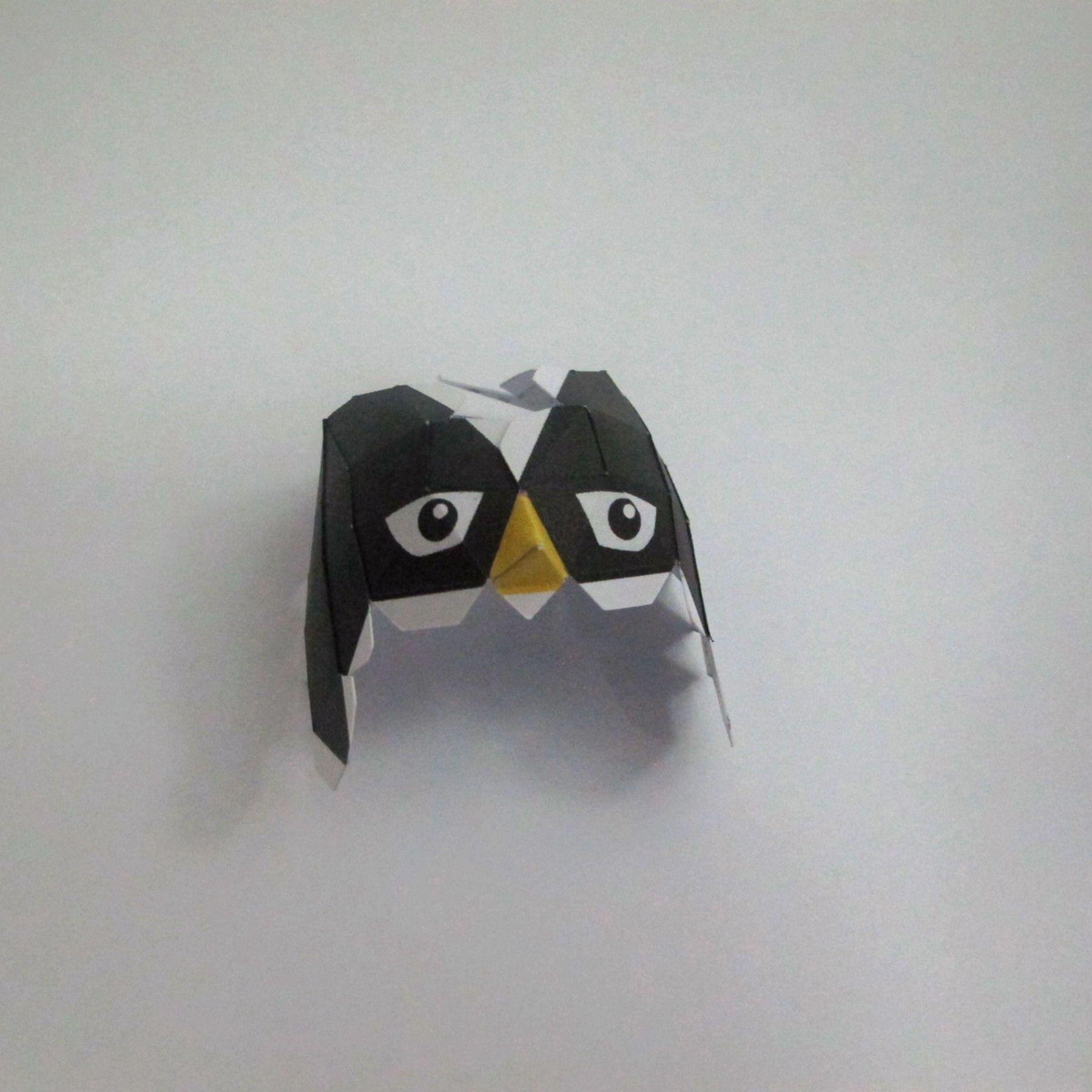 วิธีทำของเล่นโมเดลกระดาษ วูฟเวอรีน (Chibi Wolverine Papercraft Model) 014
