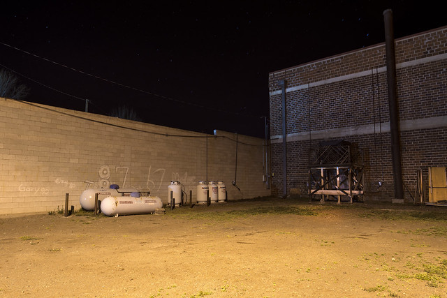 A Vacant Lot on a Wednesday Night in Alturas, California