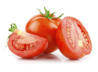 red tomato vegetable with cut | by fieldfreshfoods