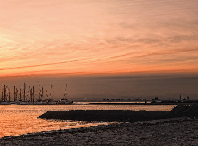 Brighton Marina @ sunset
