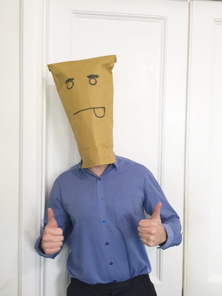 Paper Bag Head | Hi guys, If you would like to use any ...