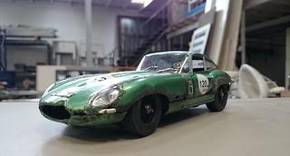 Jaguar E type rusty (12) | by www.MODELCARWORKSHOP.nl
