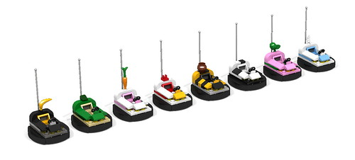 Lego bumpercar for suit guys.