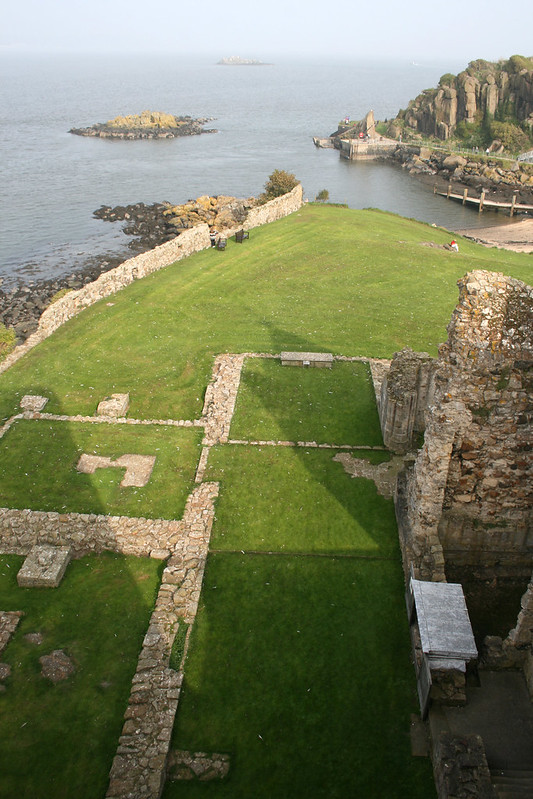 View from Inchcolm Abbey