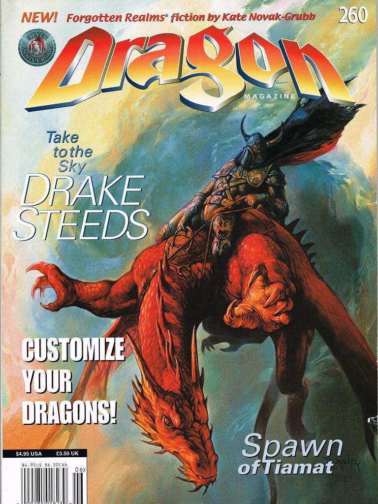 Dragon Magazine - Issue 260 | jeffliebig | Flickr