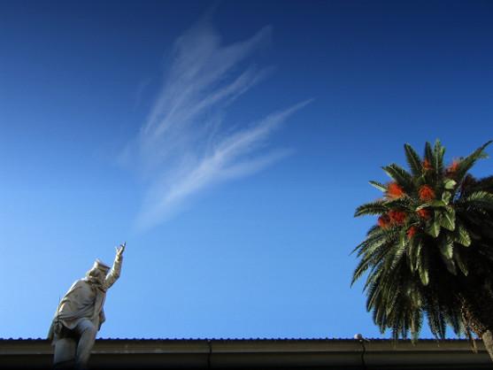 Garibaldi e la nuvola