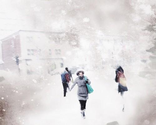 Montréal. Neige et froidure
