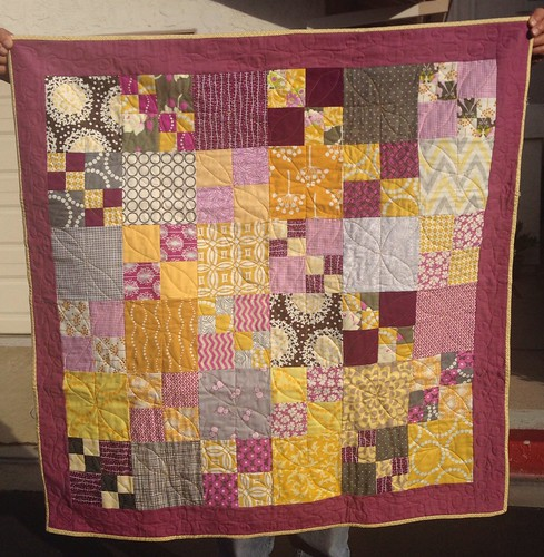 baby quilt for Wisdom