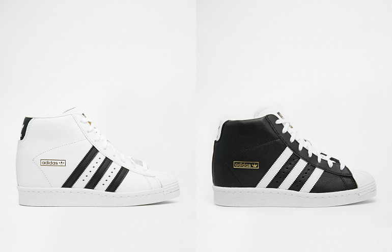 huge selection of cf361 d0afa adidas Superstar High Top sneakers / Fashion is a party   Flickr