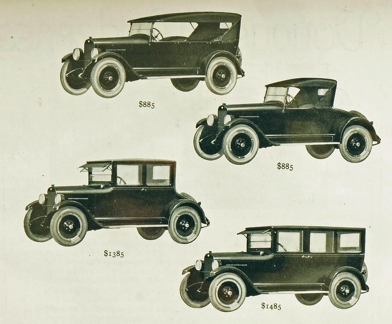 CM015 1922 Maxwell Car Ad Framed DSC04200 crop