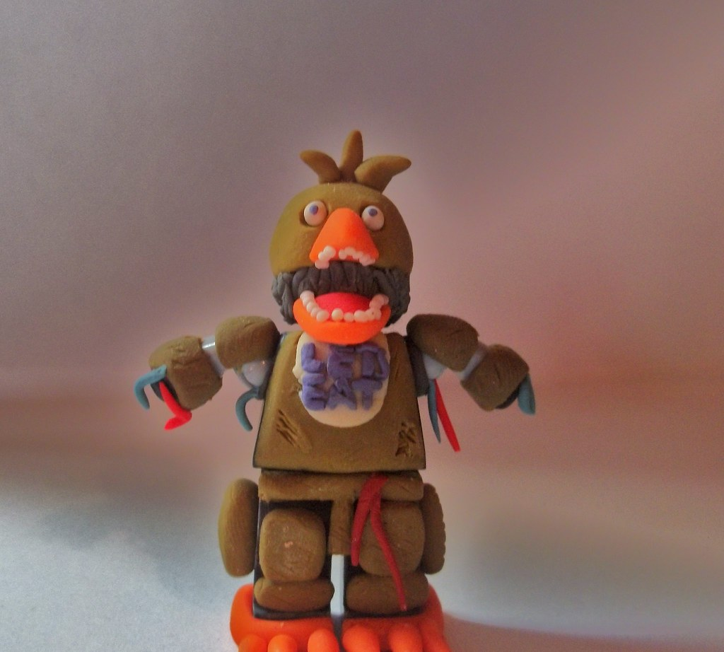 5 Nights At Freddy's Chica five nights at freddy's 2 : withered chica   hey this is my
