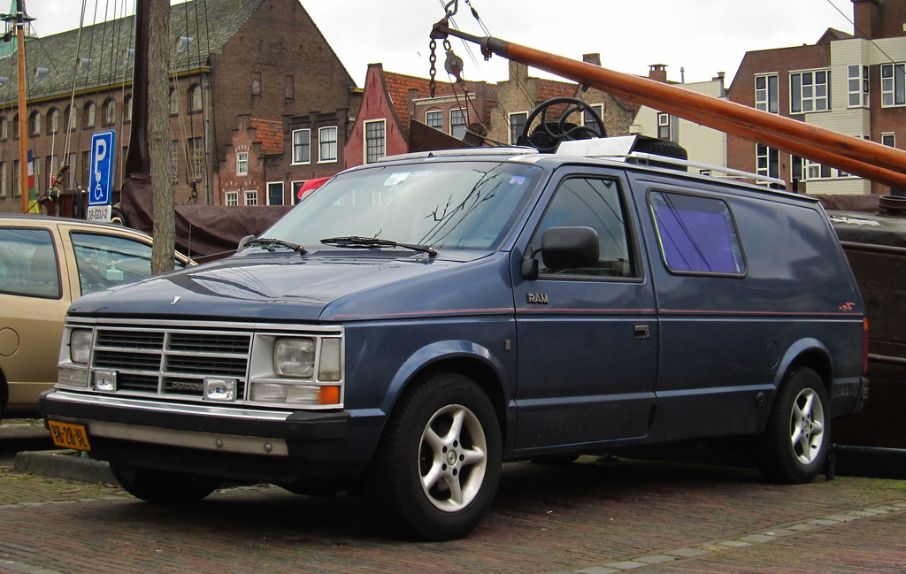 1988 Dodge Mini Ram Van 2 5 Long | Place: Leiden | Rutger