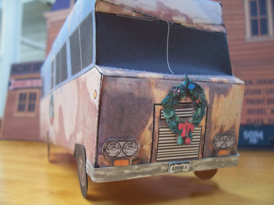 Christmas Vacation Rv.Christmas Vacation Rv Papercraft Official Inspection