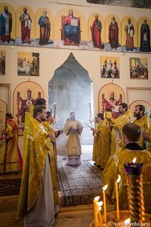 Литургия в Ильинском соборе 390