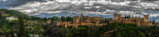 Alhambra, panoramic shot