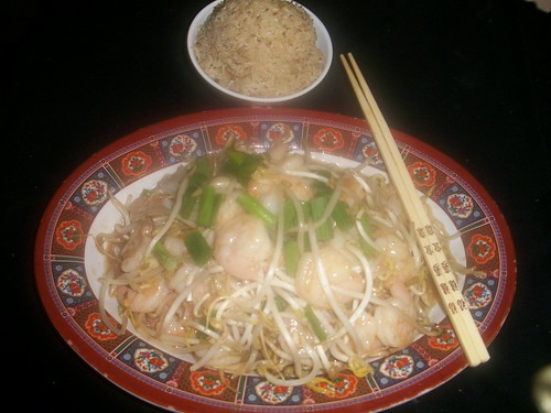 B30 Shrimp with Bean Sprouts | by Golden Gate Chinese Restaurant