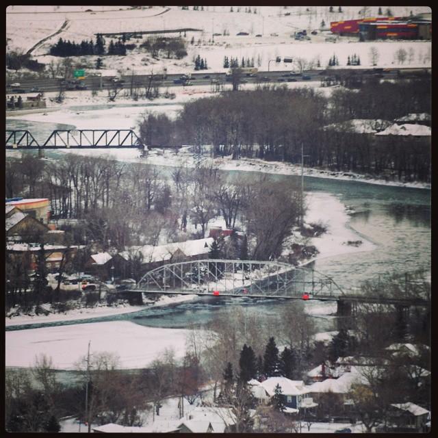#River #Bow at #Calgary