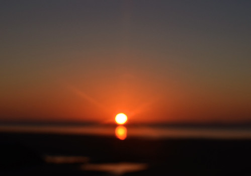 sea sky orange skyline wales sunrise coast focus llanelli
