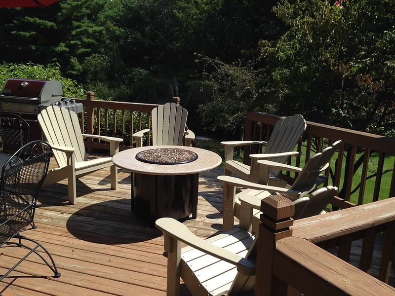 Coastline Adirondacks and Firepit