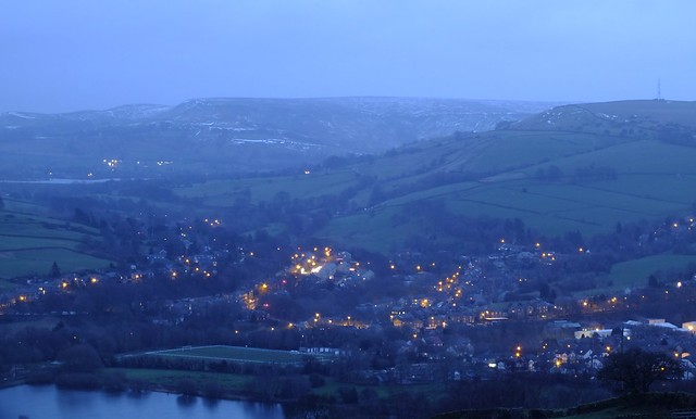 Darkness Falls over Whaley Bridge