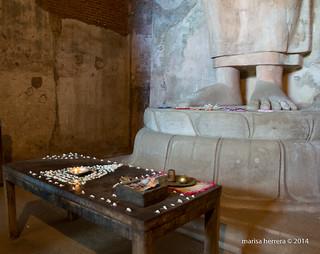 Sri Lanka. Polonnaruwa.  Tivanka Image House.