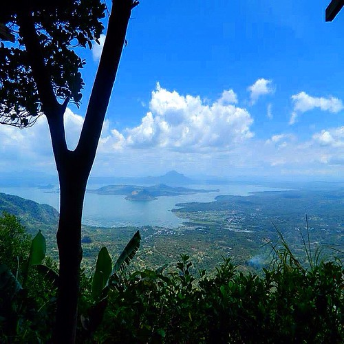 blue lake nature volcano view bluesky taal tbt throwbackthursday