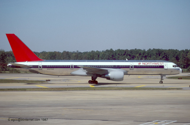 N527US - 1987 build Boeing B757-251, withdrawn from use in 2011 & stored at Marana, AZ