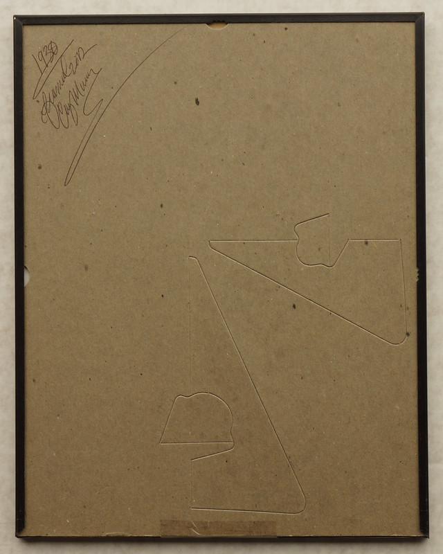CM053 1930 Pontiac Big Six Ad Framed DSC04156