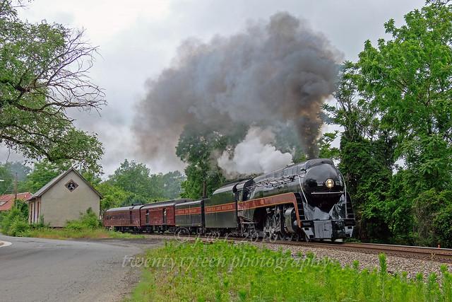 Norfolk & Western 611 @ The Plains, Virginia