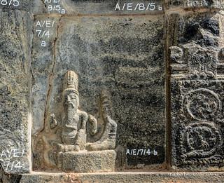 Sri Lanka. Polonnaruwa. Shiva Devale No 1.