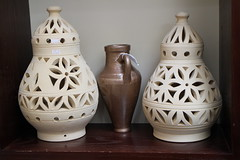 Bahrain is known for its beautiful traditional pottery...