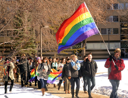 University of Alberta Pride Parade 2015