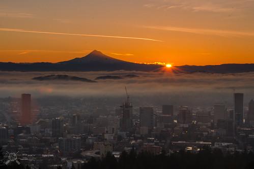 winter oregon sunrise portland nikon portlandor portlandoregon pittockmansion 2015